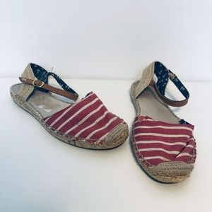 Sperry Hope Espadrille Sandals Shoes ((size 11M))